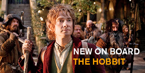 New on board - The Hobbit - An Unexpected Journey