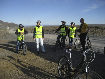Bike Tour  Group South Iceland