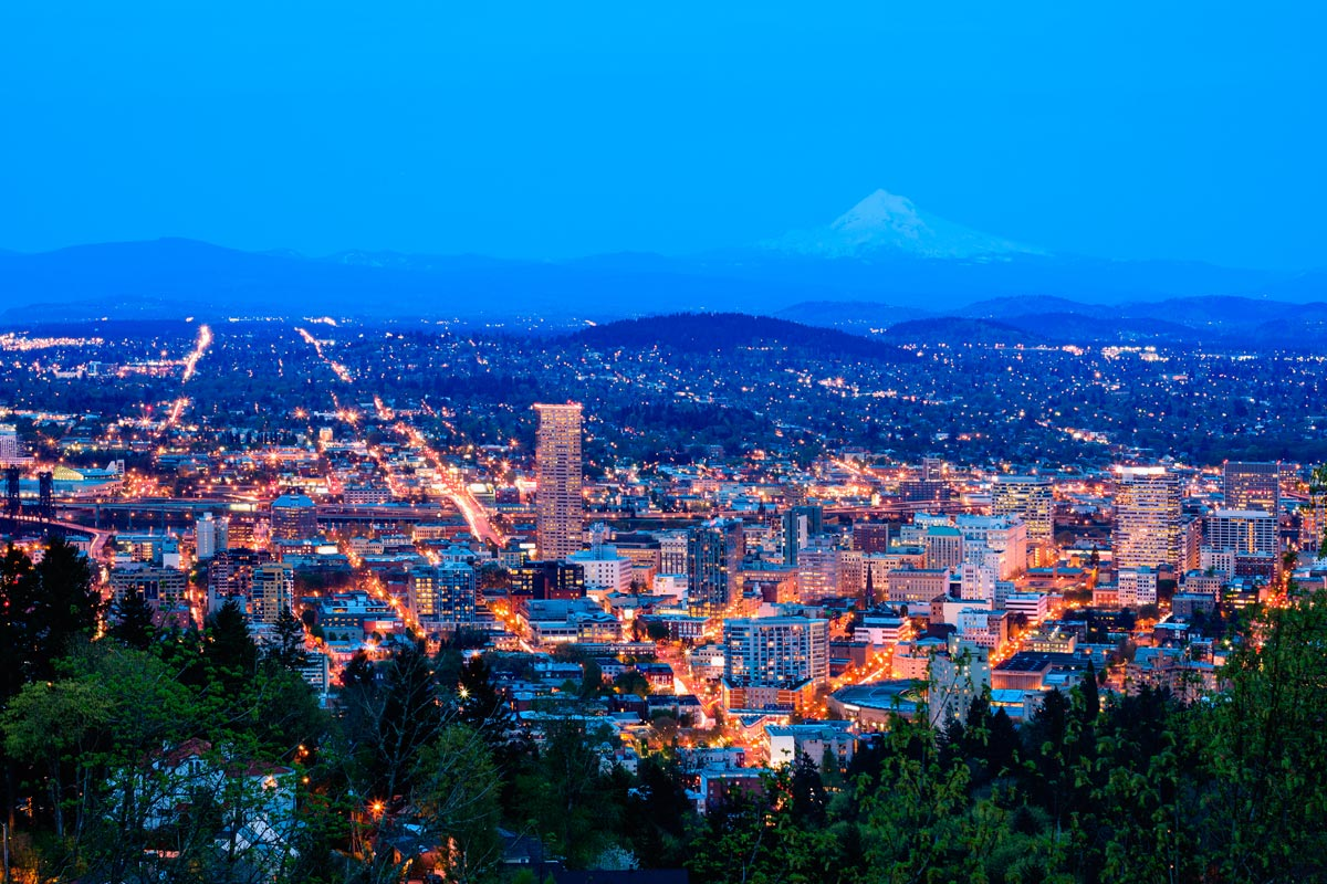Flug Portland Oregon - Frankfurt/Main ab 440