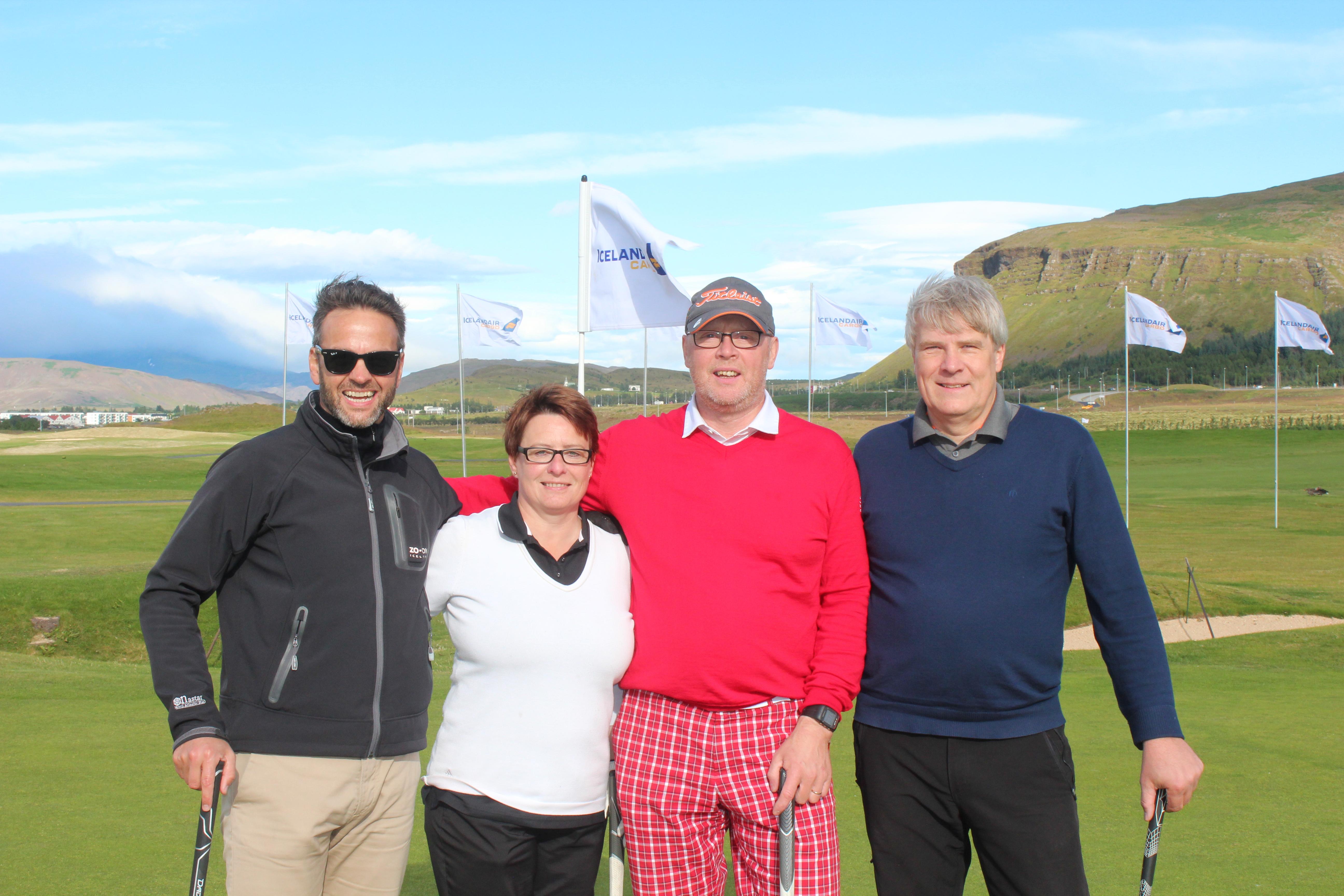 Iceandair Cargo Golf tournament 2015
