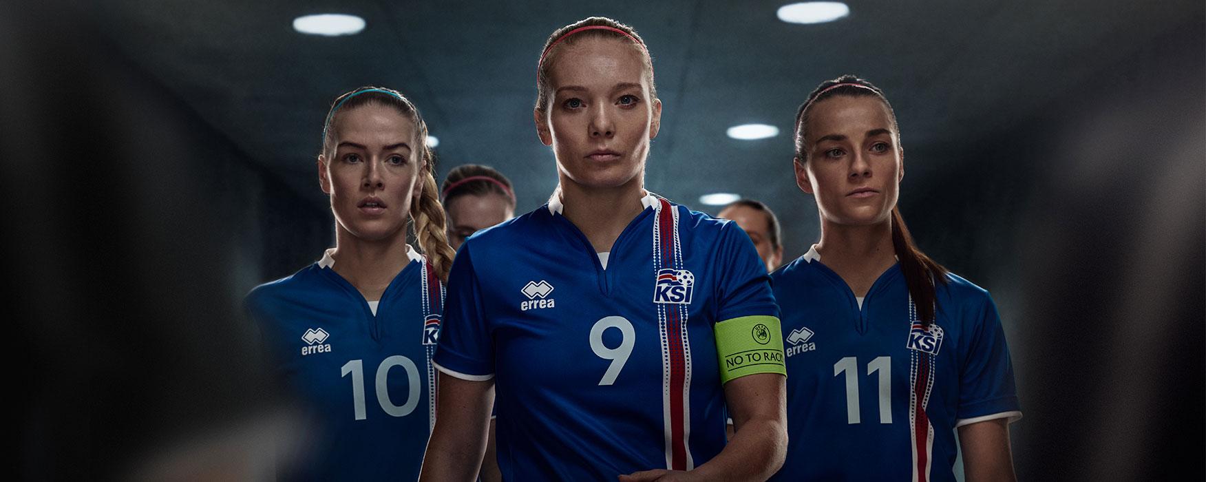 Iceland Women Soccer Team EURO 2017 | Icelandair