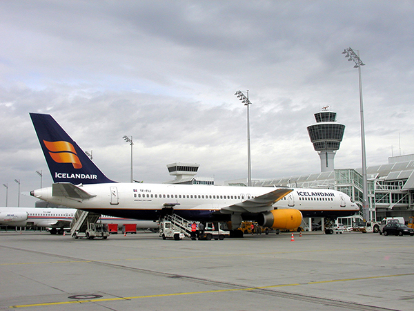 Icelandair airplane